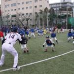 萩原先生のユーモア溢れる指導に選手たちも笑顔に!