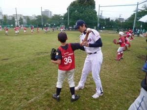 投球練習①