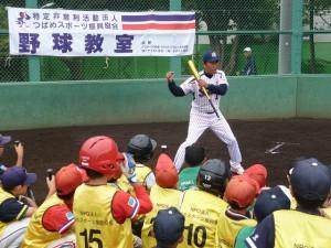 打撃練習①
