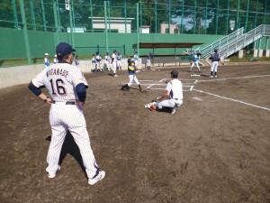 打撃練習④