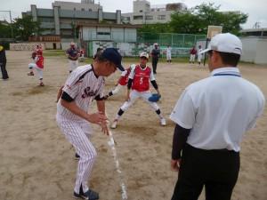 守備練習(投手②)