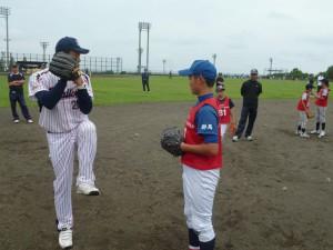 守備練習(投手①)