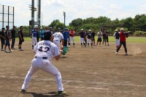 ★野球教室⑦