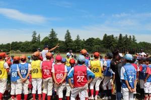 ★野球教室②