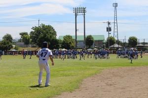 ★野球教室①